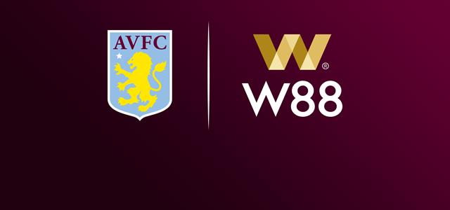 W88 W88.com Mitra Utama Baru Aston Villa 2019/20